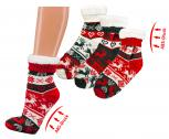 Homesocks ABS-Socken Unisex - Norwegermotiv - versch. Farben  - 56910 Gr. 30-42