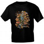 T-Shirt unisex mit Aufdruck - DIE MOSEL - 09881 - Gr. S - XXL