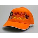 Baseballcap mit Einstickung - Helau Alaaf Karneval - 681 orange