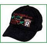 Baseball - Cap mit Bestickung - Thüringen Rennsteig - 60982 schwarz - Cap Kappe Baumwollcap Baseballcap