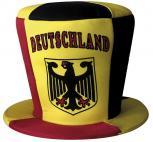 HUT Spasshut Zylinder Fun - DEUTSCHLAND mit Bundesadler - 77648