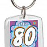 Schlüsselanhänger - mit 80 hat man noch Träume - 03541