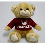 Plüsch - Teddybär mit Shirt - Franken - Größe ca 26cm - 27003