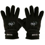 """(40385-56481) Fleece Handschuhe mit Einstickung """"EIDECHSE"""""""