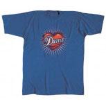 T-Shirt unisex mit Aufdruck - DAME - 09363 - Gr. S-XXL