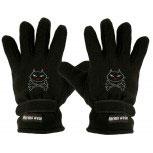 """(40385-56515) Fleece Handschuhe mit Einstickung """"KATZE/ CAT"""""""