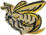 AUFNÄHER - Bee Biene - 00765 - Gr. ca. 7 cm x 6 cm - Patches Stick Applikation Bügel-Emblem
