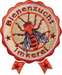 AUFNÄHER - Bienenzucht Imkerei - 00796 - Gr. ca. 9,5 cm x 12 cm - Patches Stick Applikation Bügel-Emblem