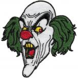 AUFNÄHER - Clown - 00877 - Gr. ca. 6cm x 10cm - Patches Stick Applikation Bügel-Emblem