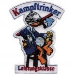 AUFNÄHER - Kampftrinker Leistungsklasse - Gr. ca. 10,5cm x 8cm (04951) Patches Applikation Stick