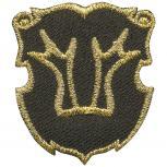 Aufnäher - Brandzeichen Rheinland - 02150 - Gr. ca. 3,5 x 4 cm - Patches Stick Applikation