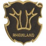 Aufnäher - Brandzeichen Rheinland - 04641 - Gr. ca. 6,5 x 7 cm - Patches Stick Applikation