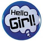 Magnet - Hello Girl! - 03645 - Gr. ca. 2,5cm