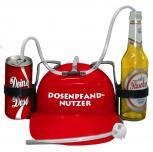 Trinkhelm Spaßhelm mit Printmotiv - Dosenpfand Nutzer - 51655 - versch. Farben zur Wahl