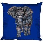 Dekokissen mit Print - Elefant - Größe ca. 40 cm x 40 cm K12991