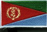 Aufnäher - Eritrea Fahne - 21589 - Gr. ca. 8 x 5 cm