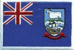 Aufnäher - Falklandinseln Fahne - 21592 - Gr. ca. 8 x 5 cm