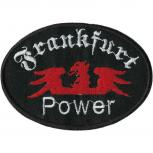 AUFNÄHER - Frankfurt forever - 00472 - Gr. ca. 9 x 6,5 cm - Patches Stick Applikation