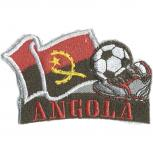 AUFNÄHER - Fußball - Angola - 77903 - Gr. ca. 8 x 5 cm - Patches Stick Applikation
