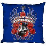 Dekokissen mit Print - Rock´n Roll Cowgirl Gitarre - Größe ca. 40 x 40 cm  K12987