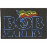 AUFNÄHER - Bob Marley - 03006 - Gr. ca. 10 x 6,5 cm - Patches Stick Applikation