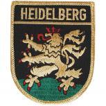 AUFNÄHER - HEIDELBERG - Gr. ca. 6,5cm x 8cm (04008) Stadtwappen Landeswappen Region - Stick Patches Applikation Wappen Emblem