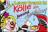 Küchenmagnet - Lever.. in Kölle... - Gr. ca. 8 x 5,5 cm - 38173 - Magnet