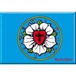 Magnet - Luther-Rose - Gr. ca. 8 x 5,5 cm - 38242
