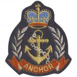 Aufnäher - Anchor - 04545 - Gr. ca. 7 x 8 cm - Patches Stick Applikation