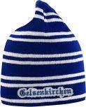 Beanie Mütze Gelsenkirchen 54621 blau weiß