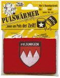 Frottee-Pulswärmer Schweißband - FRANKEN - 56434 rot