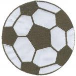 AUFNÄHER - Fußball - 00901 - Gr. ca. 7cm - Patches Stick Applikation Stick Aufbügler