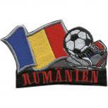 AUFNÄHER - Fußball - Rumänien - 77927 - Gr. ca. 8 x 5 cm - Patches Stick Applikation