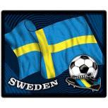 Mousepad Mauspad mit Motiv - Schweden Fahne Fußball Fußballschuhe - 83162 - Gr. ca. 24 x 20 cm