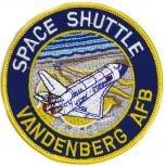 AUFNÄHER - Space Shuttle - 00729 - Gr. ca. 10 cm Durchmesser - Patches Stick Applikation