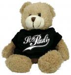 Plüsch - Teddybär mit Shirt - St Pauli - Größe ca 20cm - 27055