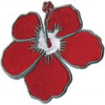 """AUFNÄHER """"Blume Blüte Mohnblüte"""" NEU Gr. 7cm x 7cm (04992) Stick Emblem Abzeichen patches Applikation"""