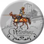 Anstecknadel Button Ansteckbutton mit Motivdruck - Wartburg -  06335