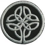 AUFNÄHER - Wikinger Symbol - 01884 - Gr. ca. 5 cm Durchmesser - Patches Stick Applikation