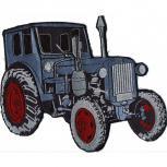 Rückenaufnäher - Traktor - 07456 - Gr. ca. 25,5 x 21,5cm - Patches Stick Applikation