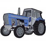 Rückenaufnäher - Traktor - 07457- Gr. ca. 27 x 18,5 cm - Patches Stick Applikation