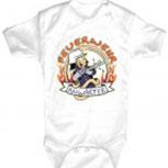 Babystrampler mit Print – Feuerwehr Anwärter – 08366 weiß - 0-24 Monate