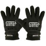 Handschuhe Fleece mit Einstickung Gamer 31532 schwarz