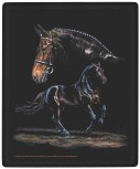 """Mousepad mit Pferdemotiv """"WARMBLUT"""" NEU Gr. ca. 24x20cm (22506) Eyecatcher für den Schreibtisch"""