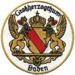 Aufnäher Patches Applikation Aufnähwappen Wappen - BADEN - Gr. ca. 6cm - 00484 -