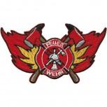 Aufnäher - 04722 - Feuerwehr - Gr. ca. 11,5 x 6,5 cm - Patch Applikation Stick Emblem