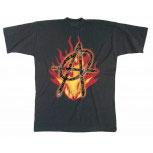 T-Shirt unisex mit Aufdruck - ANARCHIE - 09610 - Gr. S - XXL