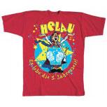 T-Shirt unisex mit Aufdruck - HELAU - ES LEBE DIE 5. JAHRESZEIT - 09510 - Gr. S - XXL