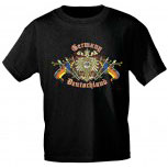 T-Shirt unisex mit Aufdruck - GERMANY DEUTSCHLAND - 09553 - Gr. S - XXL