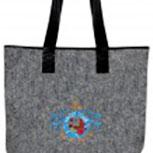 Filztasche mit Stickerei - MARITIM YACHT CLUB - 26036 - Tasche Umhängetasche Shopper